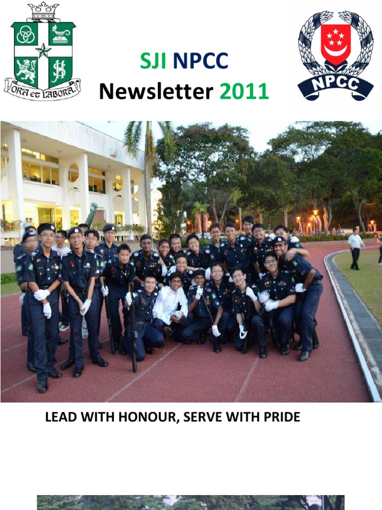 SJI NPCC Newsletter | Sports | Armed Conflict