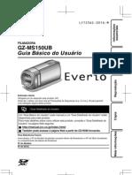 Manual Filmadora JVC LYT2362-001A-M