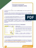Comunicato Cedolino Online CORR2011 2pag