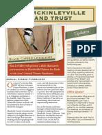 Spring 2008 McKinleyville Land Trust Newsletter