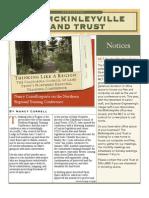 Summer 2008 McKinleyville Land Trust Newsletter