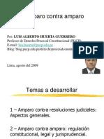 20090806-Amparo Contra Amparo-1- LUIS HUERTA