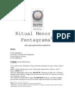 Ritual Menor Do Pentagram A