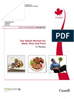The Retail Market for Beef and Pork in Russia