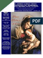 January 1, 2012 Bulletin