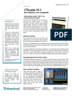 Brochure New Features in  VTS version 10 1