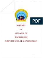 Schemes Btech Cse