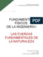 Las fuerzas fundamentales de la Naturaleza.