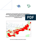 South China Sea Project Knowledge Document Nutrient Carrying Capacity