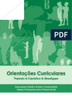OrientaCurriculares ExpectativasAprendizagem Ednfantil EnsFund LPO Surdos