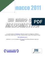 Almanacco Maddmaths! 2011