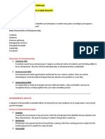 Enterpreneure Study