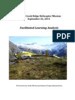 Davies Creek Ridge Heli Mission FLA