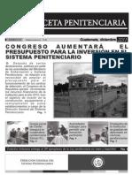 Gaceta Penitenciaria No. 14