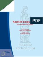 58883801 Applied Linguistics 2