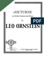 Ornstein L. S600 - Clarinet Nocturne