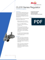 CL231 Gas Regulator