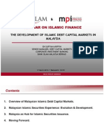 The Development of Islamic Debt Capital Markets in Malaysia