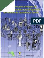 PPCS - Cartilha CFESS Parâmetros para atuação do Assistente Social - 1313453613813