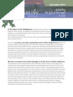 Newsletter December 2011