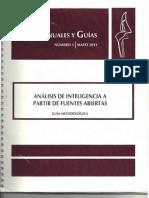 Manual de Analisis de Icia. Por Fuentes Abierta