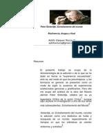 Adolfo Vásquez Rocca - Peter Sloterdijk, extrañamiento del mundo abstinencia, drogas y ritual
