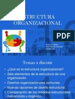 Estructura Organizacional Jessica Gonzalez