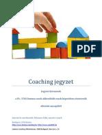Coaching Jegyzet