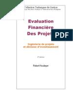 Evaluation Financière des Projets - 2nd Ed - R Houdayer (Techniques de Gestion) -