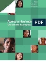 Aborto a nivel mundial una década de progreso desigual