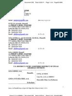 Doc 202 Liberi v Belcher - Plaintiffs Opposition to the Hales MTS