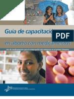 Guía de capacitación aborto con medicamentos IPAS