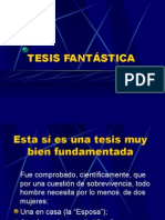 Tesisfantstica