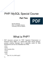 PHP Lecture Notes 1