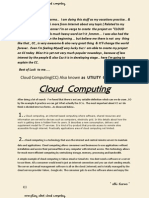 "Everything About ""Cloud Computing. (A beginners Guide)"