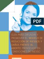 Guía para difundir y promover modelo de RRyD IPPF