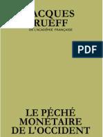 péché monétaire de l'occident - Rueff format 6 pouces (kindle)