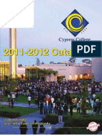 2011-12 Cypress College Catalog