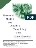 Non-Self Motto 1-2011 (English) eBook