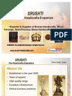 SRUSHTI The Handicrafts Emporium Tamil Nadu India