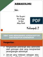 Obat Yang Menginhibisi or Dan Reseptor Adrenergik
