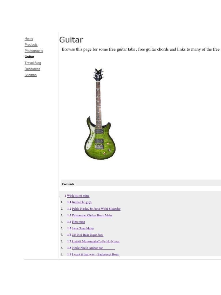 Guitar Chords To Desperado Choice Image Basic Guitar Chords Finger