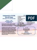 VSTOL Short Course Flyer
