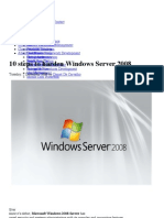 10 steps to harden Windows Server 2008 » Tevora Blog