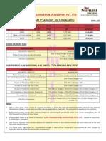 Price List Shri Sumati Enclave[1]