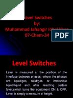 Level Switches 34