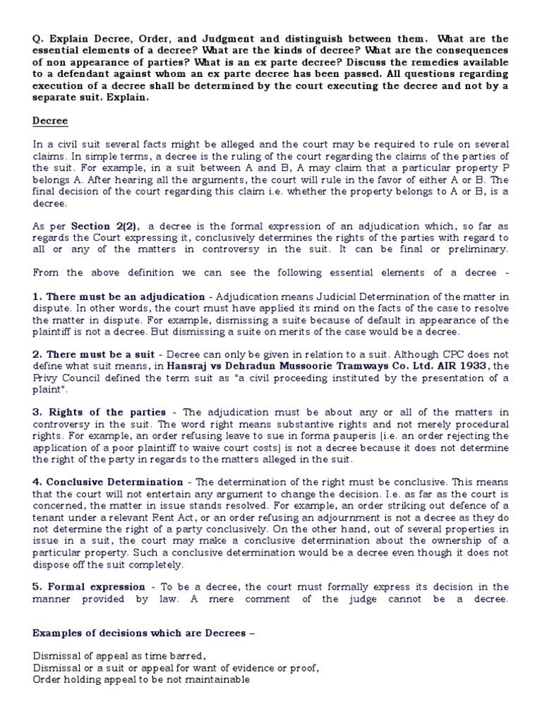 civil procedure code | res judicata | lawsuit