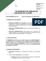 103-Tarjeta Residencia Familiar