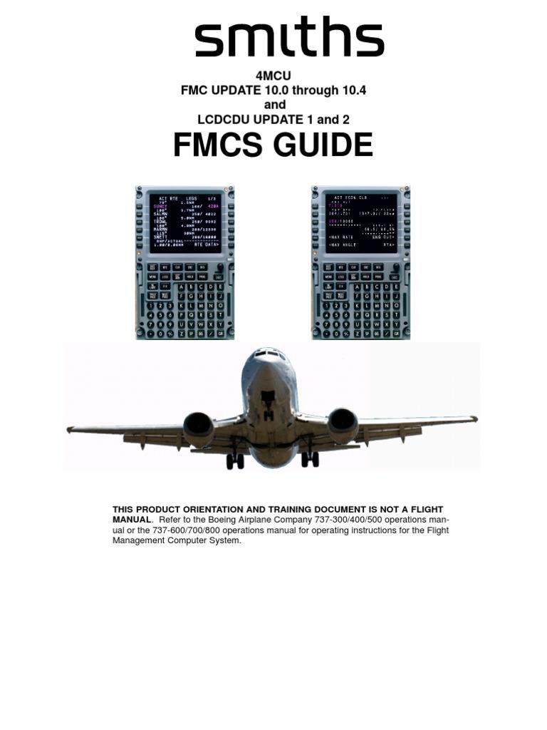 b737ng smiths fmc guide navigation aviation rh scribd com 737 FMS 737 Overhead Panel
