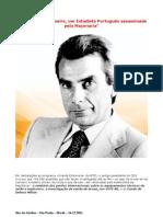 Francisco Sá Carneiro - Um Estadista Português assassinado pela Maçonaria